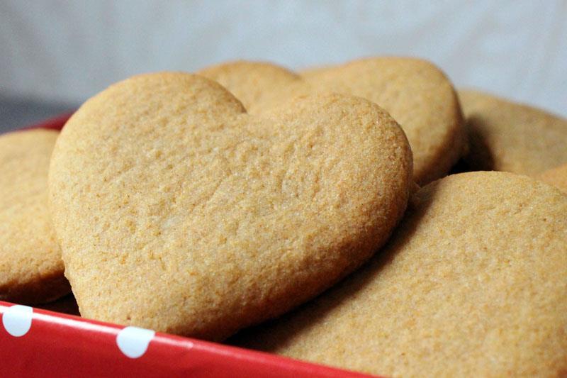 Biscuit Coeur saint Valentin au thermomix