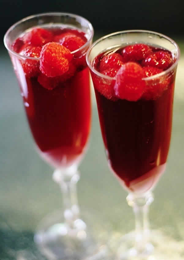 Cocktail Saint Valentin au thermomix