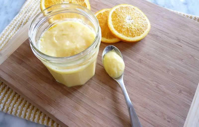 Crème à l'orange facile au thermomix