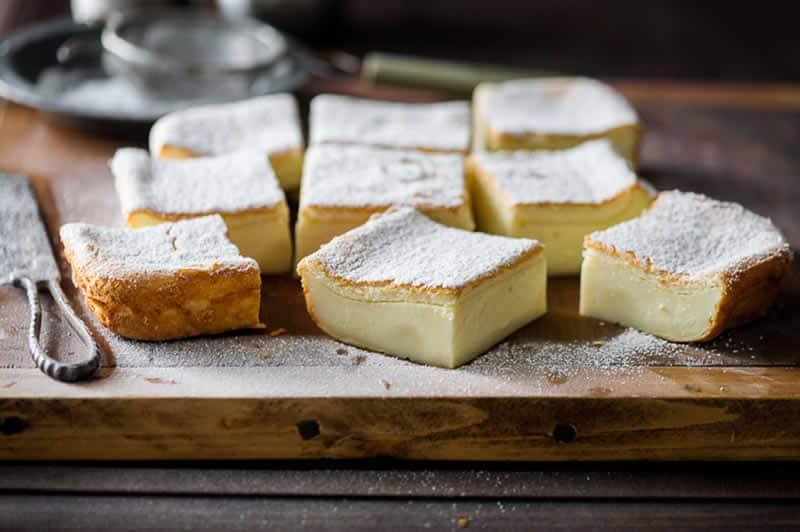 Gâteau magique facile à la vanille avec thermomix