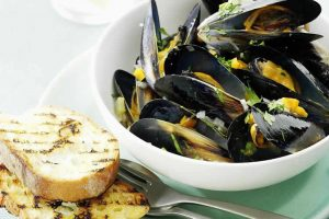 Moules Marinieres au thermomix