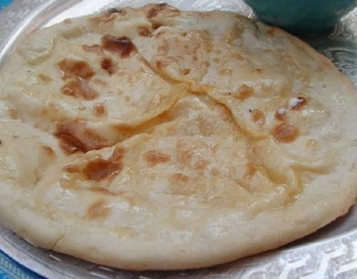 Naan au fromage facile au thermomix