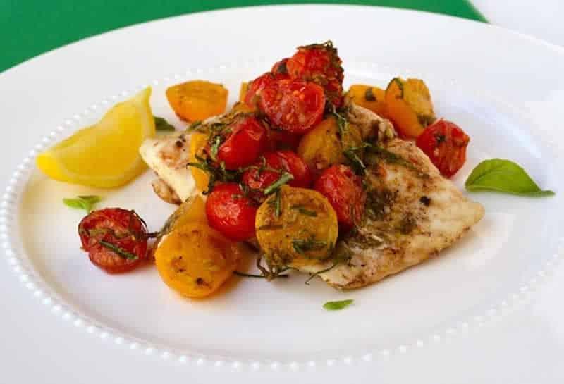 Papillotes de poisson aux pommes de terre et tomates avec thermomix