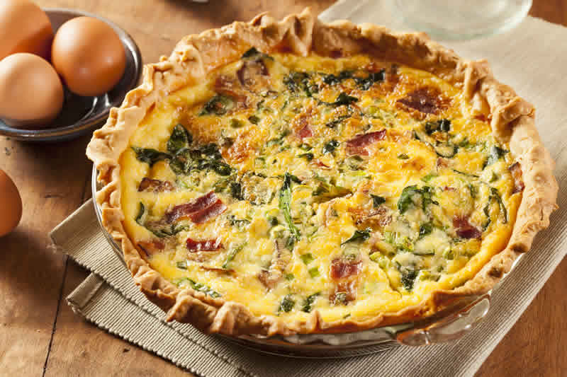Quiche Epinards Lardons au thermomix