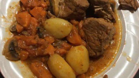 Rouelle de porc pommes de terre au cookeo