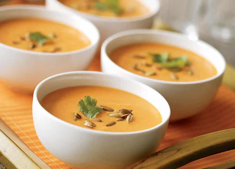 soupe froide de carottes au cookeo blogs de cuisine. Black Bedroom Furniture Sets. Home Design Ideas