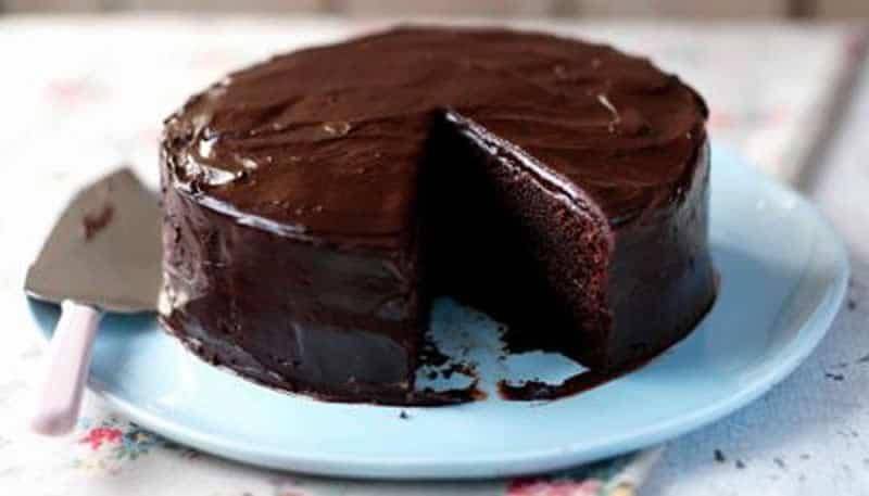 Gâteau au chocolat sans sucre avec thermomix