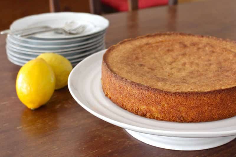Cake Moelleux Orange Thermomix