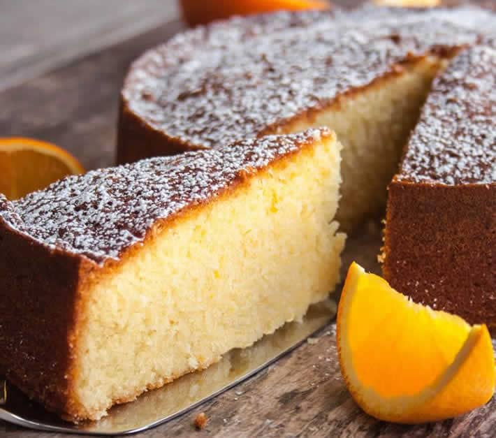 Gâteau au jus d'orange facile avec thermomix