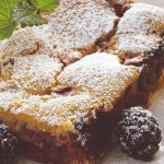 Gâteau moelleux aux mures avec thermomix