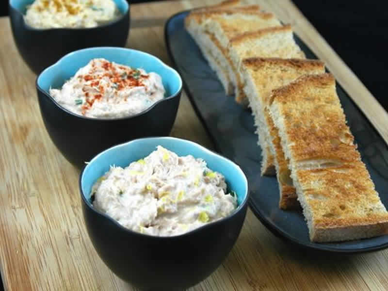 rillette de thon au saint moret avec thermomix recette thermomix. Black Bedroom Furniture Sets. Home Design Ideas