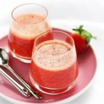 Smoothie fraise menthe orange au thermomix