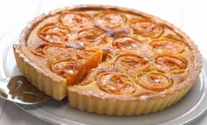 Tarte aux abricots amandine avec thermomix