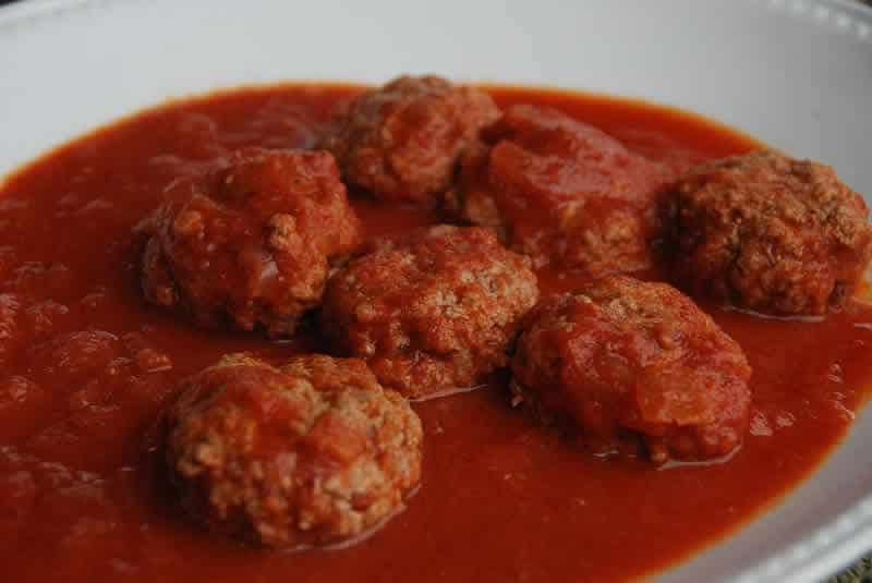 Boulettes de viande à la sauce tomate avec thermomix