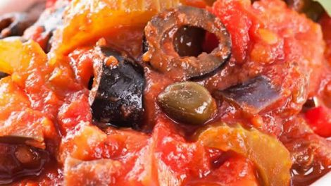 Caponata sicilienne recette WW