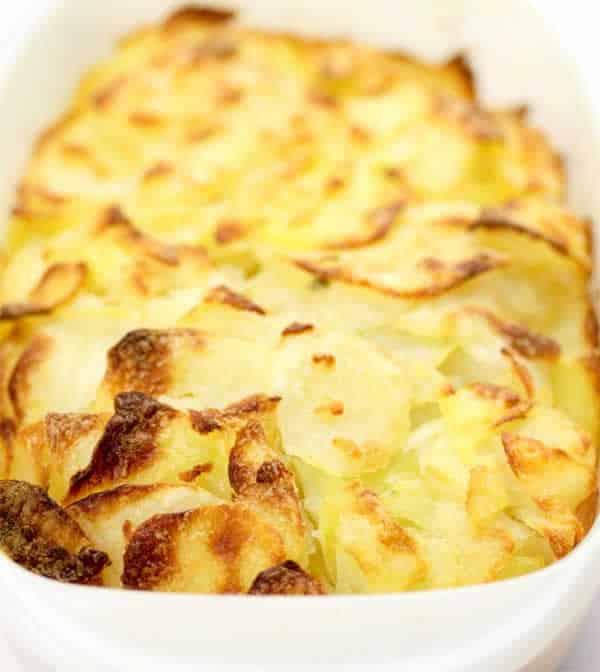 Gratin de courgettes et pommes de terre au thermomix