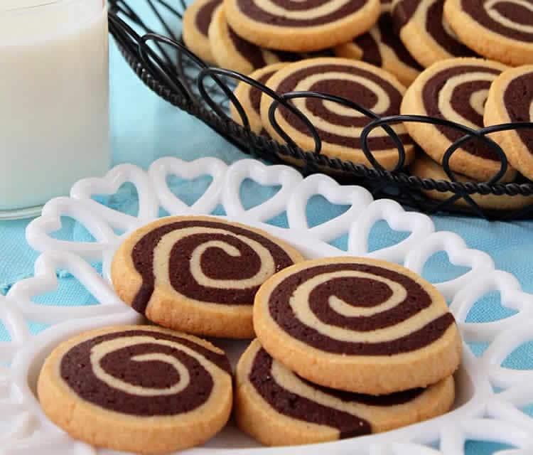 Sablés spirales au chocolat avec thermomix