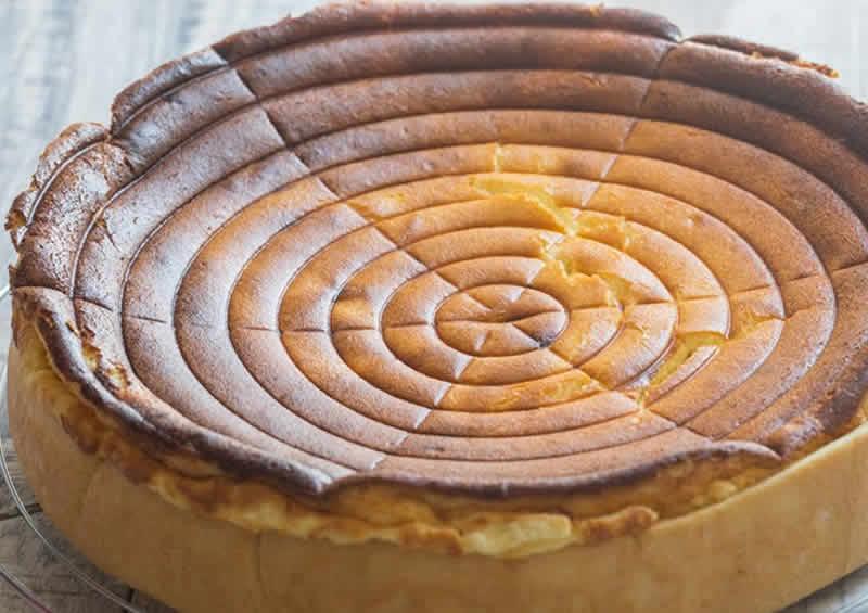 Tarte au fromage blanc Alsacienne avec thermomix