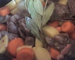 Boeuf bourguignon au Cookeo