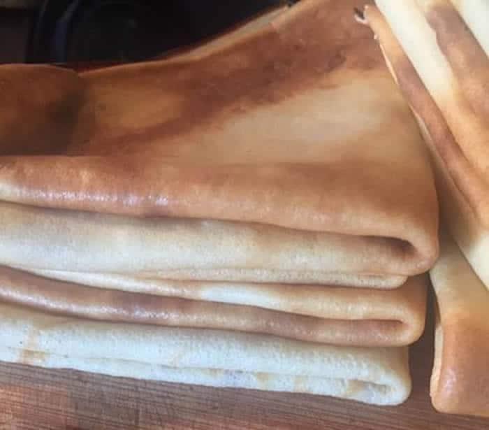 P te cr pe facile au thermomix blogs de cuisine - Pate crepe thermomix ...