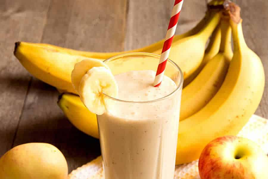 Smoothie Pommes Bananes au thermomix