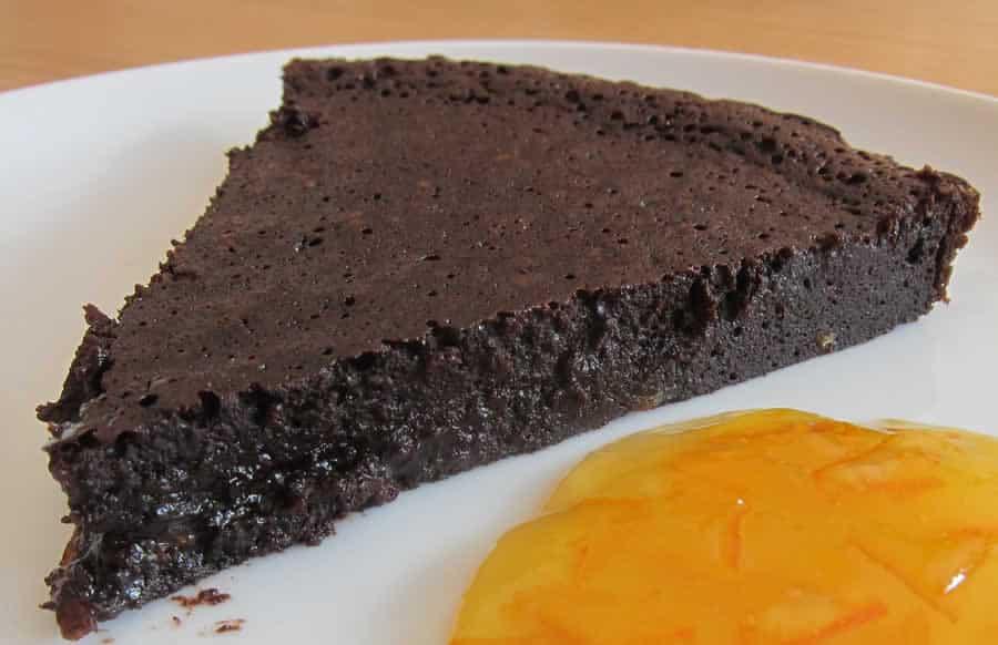 Fondant chocolat au beurre salé avec thermomix