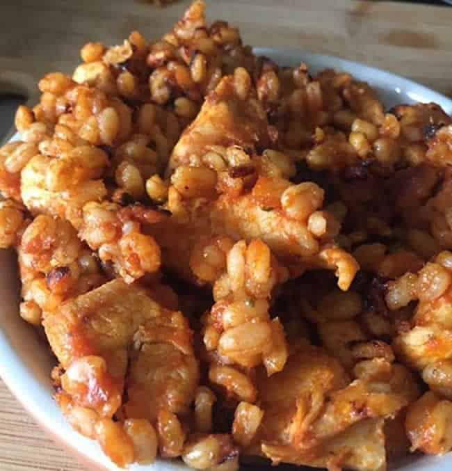 Poulet ebly et sauce tomate au Cookeo