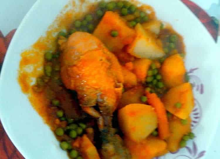 Tajine de poulet facile au thermomix recette thermomix - Recette thermomix regime ...
