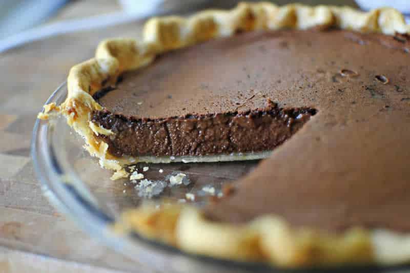 Tarte au chocolat facile au thermomix recette thermomix - Tarte aux chocolat facile ...