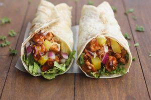 Wrap ou tortilla au poulet