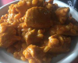 Filet mignon au curry et ebly au Cookeo