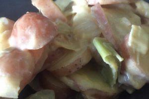 Poireaux et pommes de terre au Cookeo