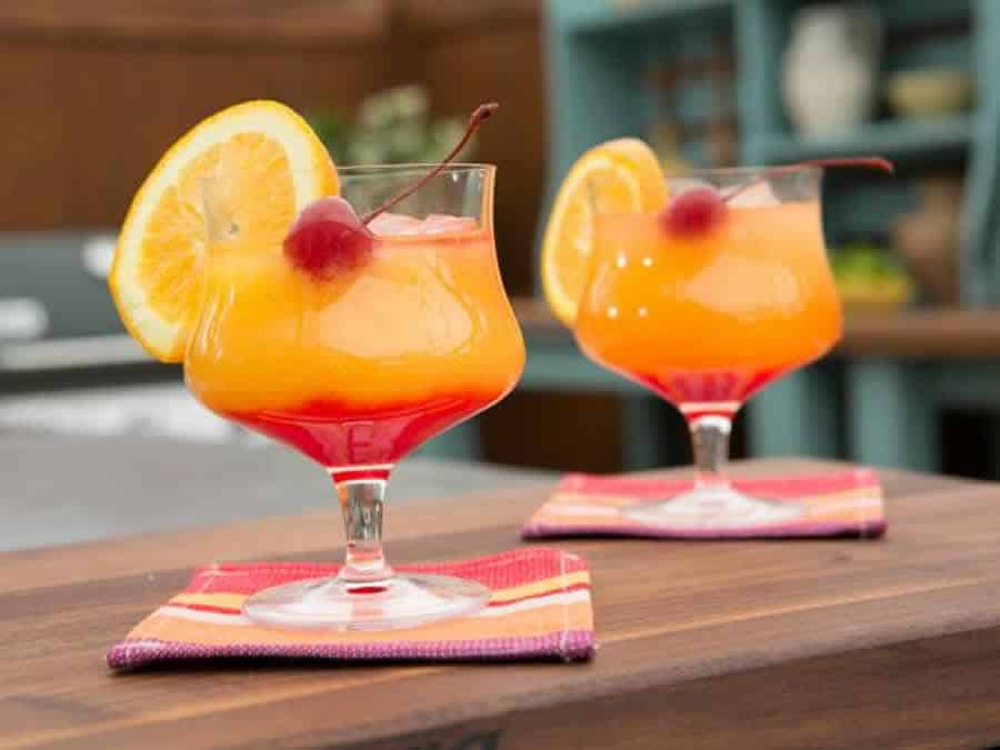 Téquila sunrise au thermomix