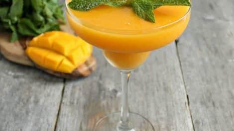Cocktail Mango Daiquiri au thermomix