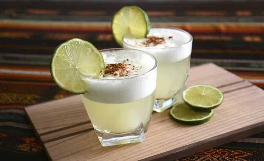 Cocktail Pisco sour au thermomix