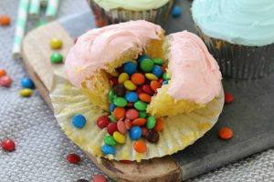 Cupcakes surprise au M&M avec thermomix
