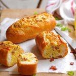 Petits pains aux lardons avec thermomix