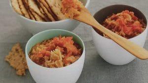 Tartinade d'artichaut et tomate au thermomix