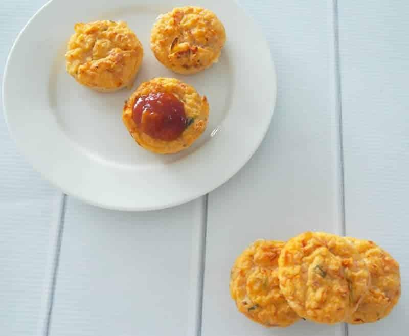 Muffins aux tomates et jambon avec thermomix