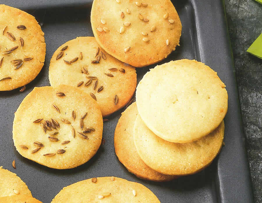 Crackers au fromage avec thermomix