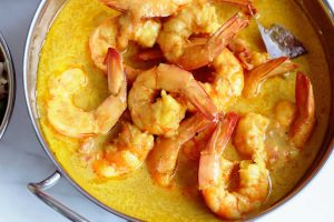 Curry de crevettes au Companion