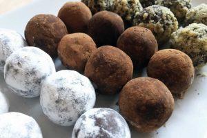 Truffes chocolat-marron au companion