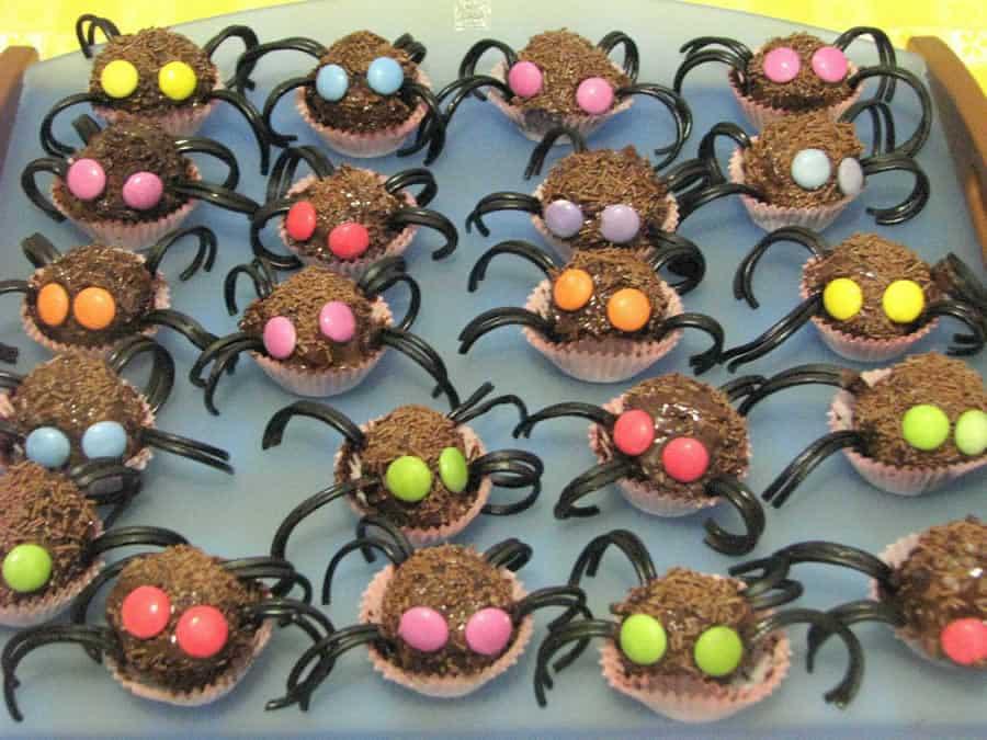 Araignées d'halloween au thermomix