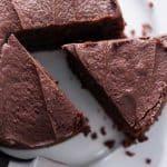 Gâteau moelleux chocolat sans oeufs au thermomix