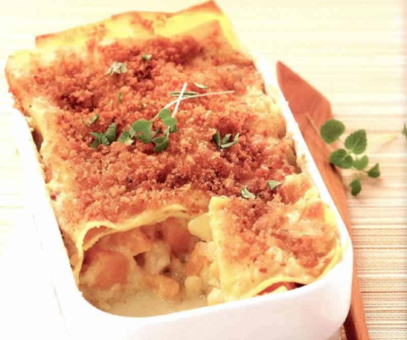 Lasagnes aux légumes avec thermomix