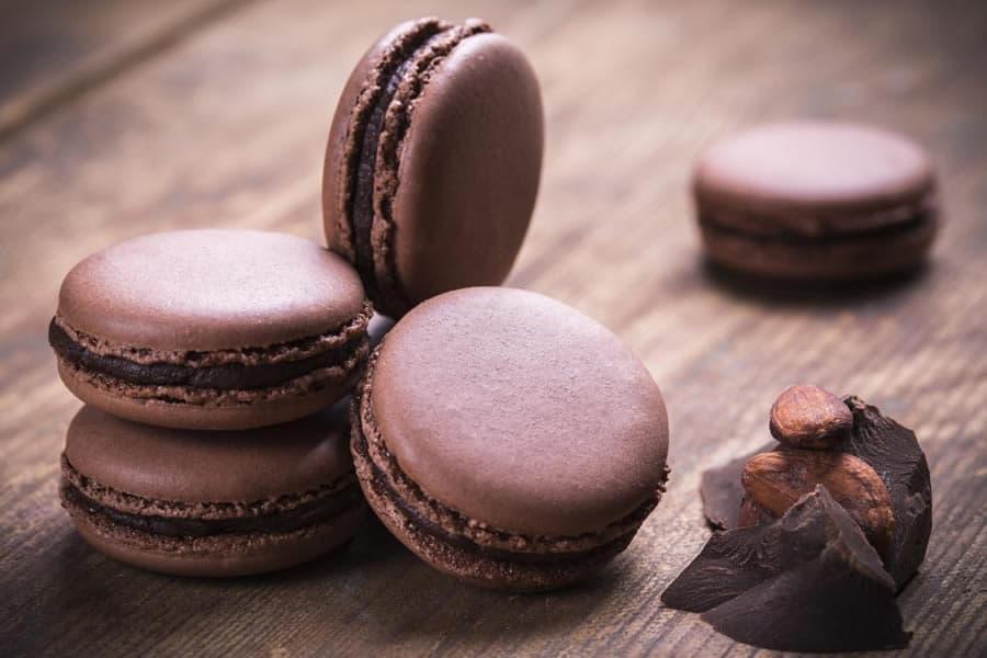 Macaron au chocolat thermomix