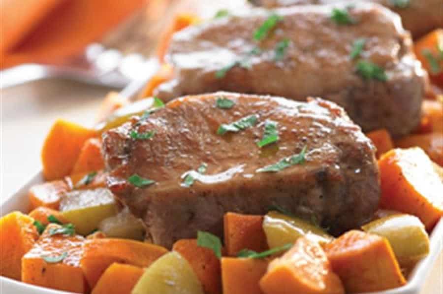 Porc Doux aux Pommes avec thermomix