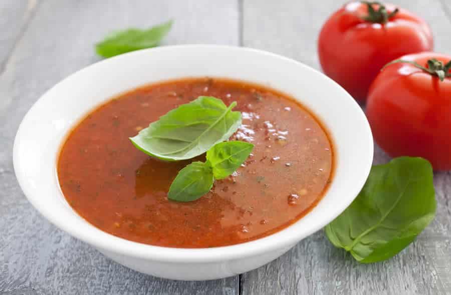 Potage la tomate et basilic au thermomix recette thermomix - Potage a la tomate maison ...