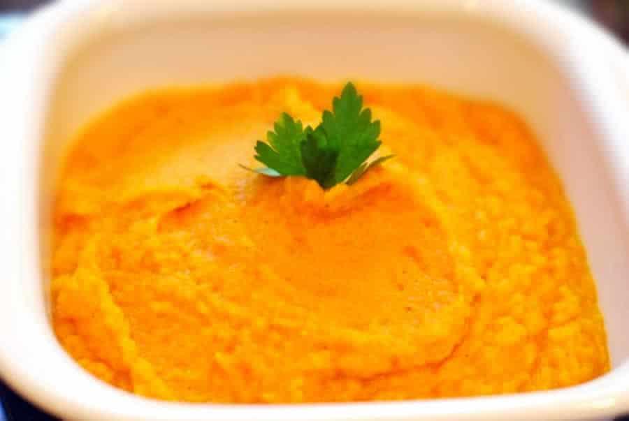 Purée de panais et carottes au thermomix