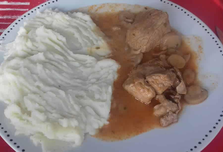 Rouelle de porc à la sauce tomate au cookeo